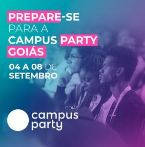 Campus Party Goiás – evento de tecnologia
