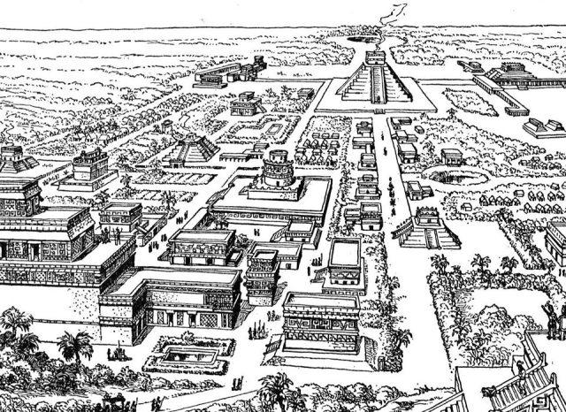 Resultado de imagen para barrios teotihuacanos