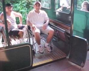 Cataratas del Iguazú, accesos para personas con discapacidad en silla de ruedas. Fuente: integrando.org.ar