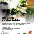 blas infante y el ideal andaluz. Cartel.