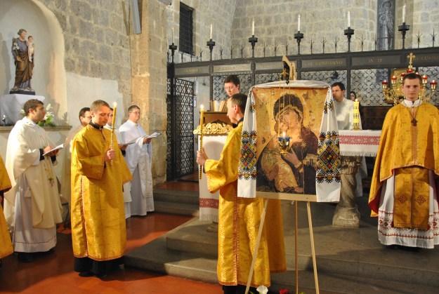 Misa en rito bizantino