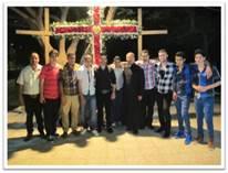 Apostolado con jóvenes católicos de la Franja de Gaza