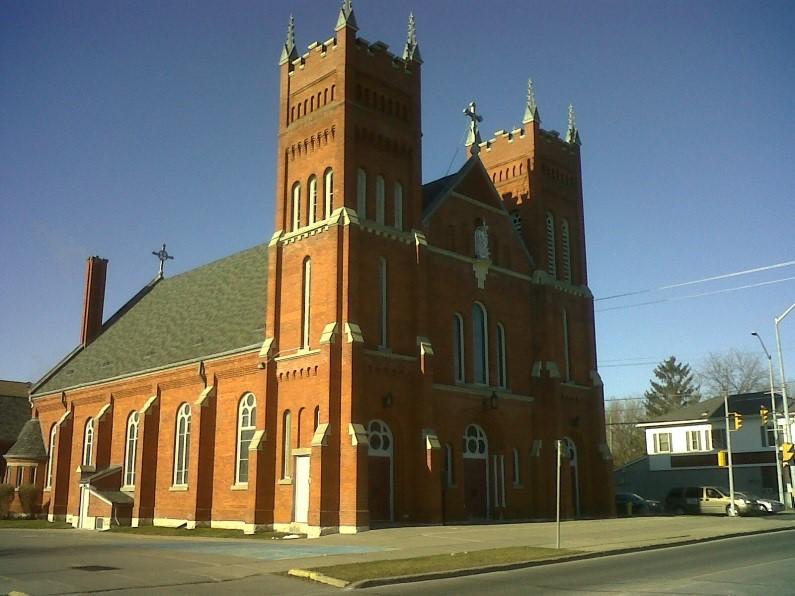 Foto: Iglesia de San Miguel Arcángel en Cobourg, Ontario (Canadá)