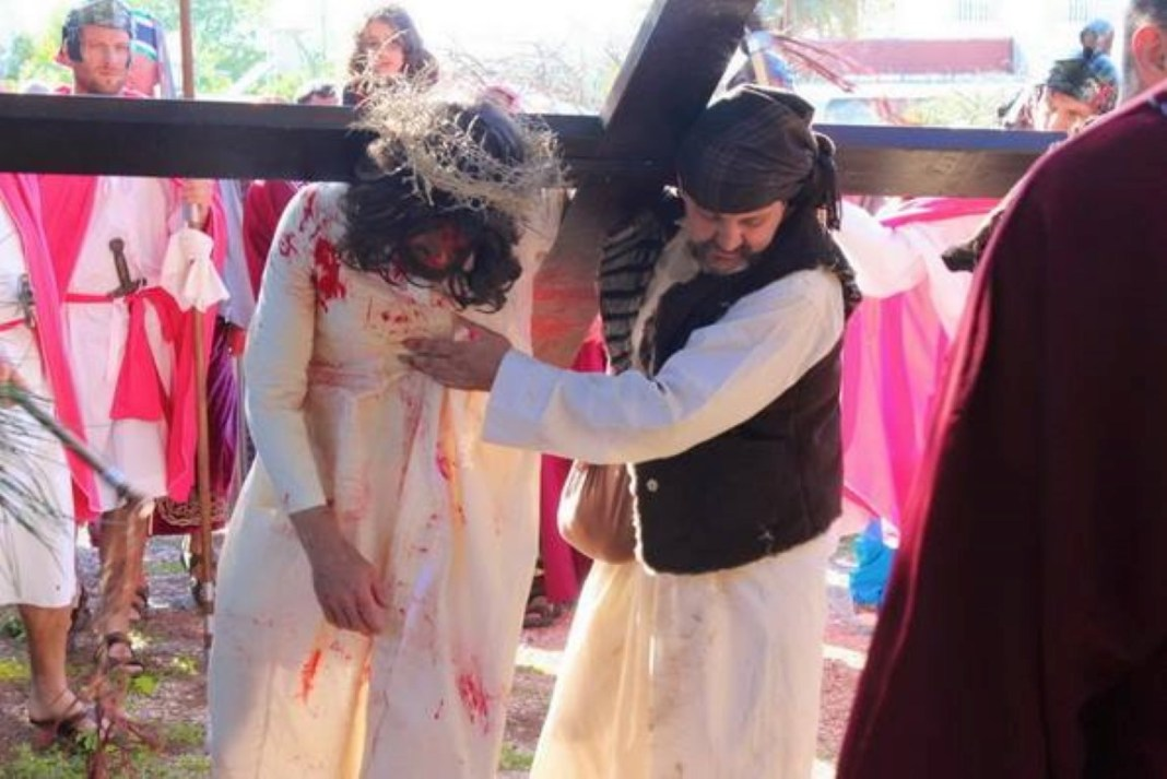 Institute of the incarnate word (ive) - Passion Play  (3)