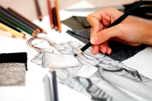 diseño coleccion dibujo figurin
