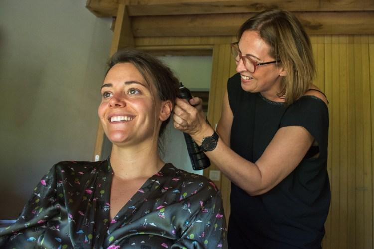 Bruids makeup mol huwelijk