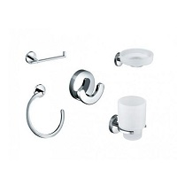 Vado Eclipse 5 Piece Bathroom Accessory Pack
