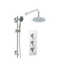 Gallini Triple Round Shower Pack 3