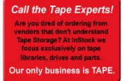 Instock Tape Library Sales