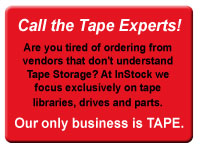 Call the tape experts at InStock!