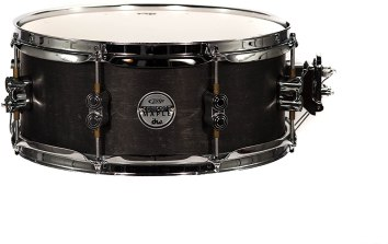 Snare Drum PDP by DW Black Wax Maple 14x6.5 Inch