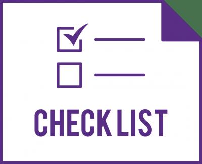checklist decorative graphic