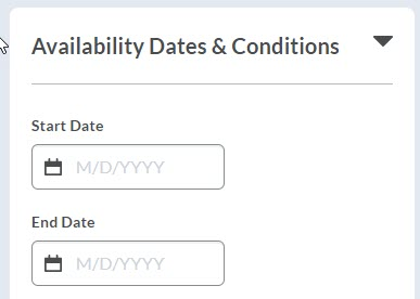 brightspace assignment availability