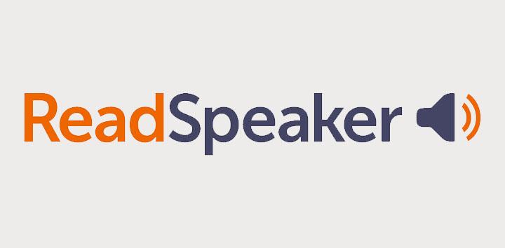 readspeaker header