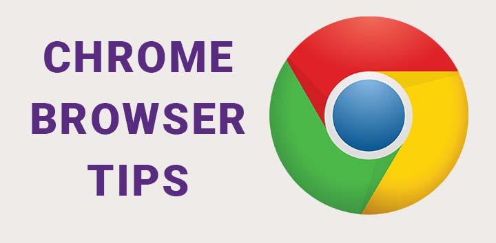 chrome browser tips header