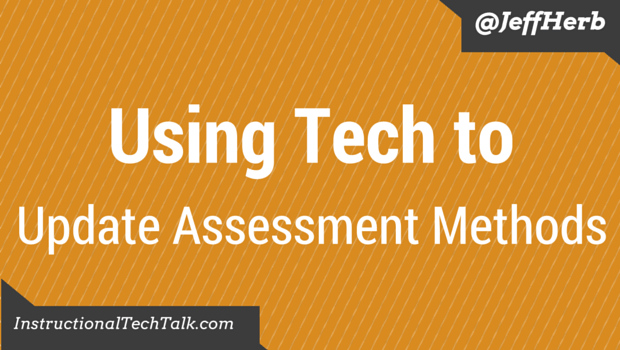 Modern Teaching Using Tech To Update Assessment Methods Instructional Tech Talk Description of assessment methods used to assess plo(s) when describing methods used to assess student achievement of the plo(s) using tech to update assessment methods