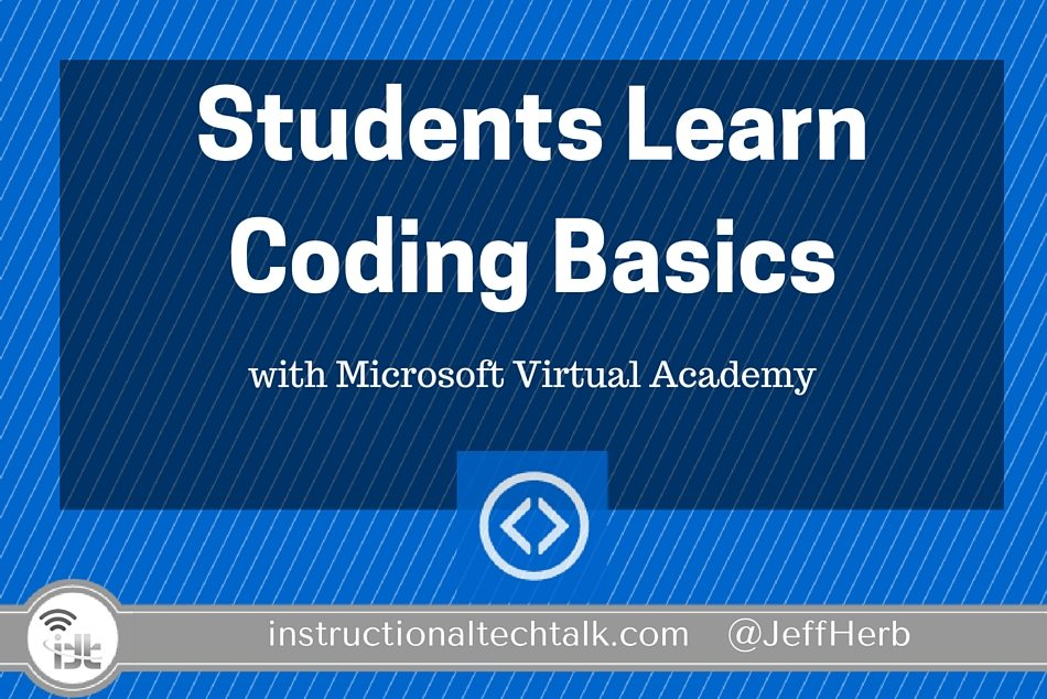 Students Learn Coding Basics with Microsoft Virtual Academy