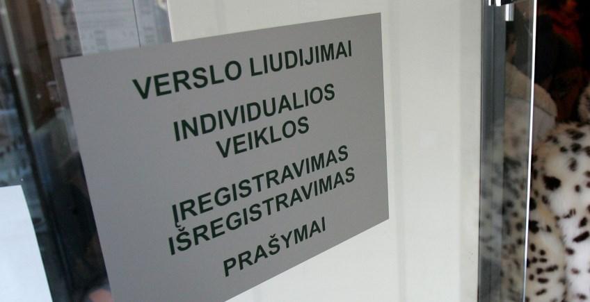 Individuali veikla pagal pažymą arba verslo liudijimo įsigijimas
