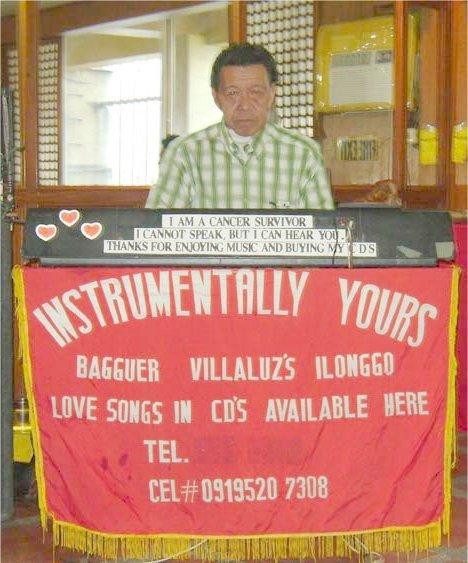 Bagguer Villaruz Playing an Electric Organ