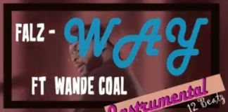 falz way instrumental wande coal beat