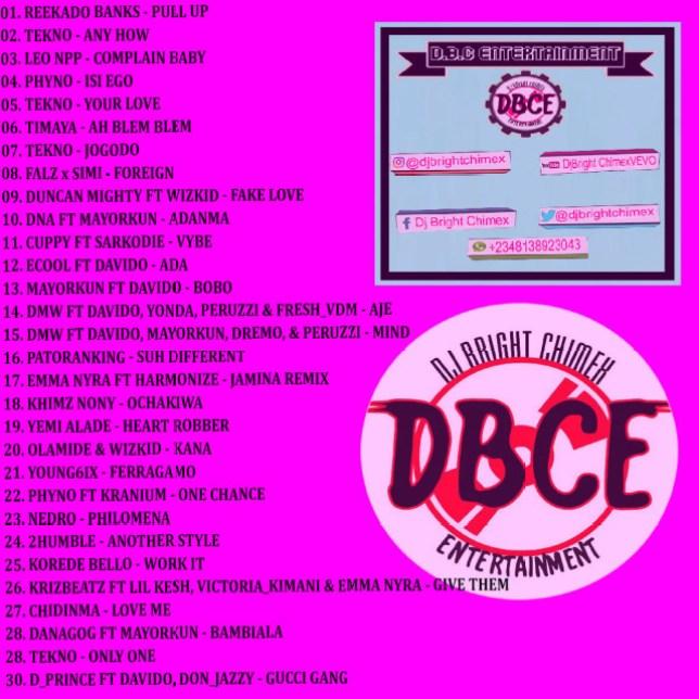 dj bright chimex may 2018 mix