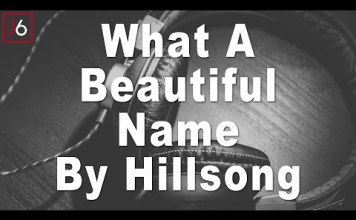 hillsong what a beautiful name instrumental