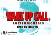 sarkodie wake up call instrumental by figures
