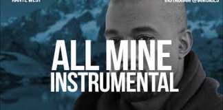 kanye west all mine instrumental