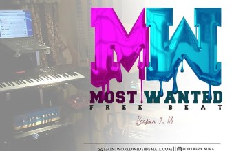 Hip Hop Freebeat Most Wanted By Portrezy Tbk (Custom)