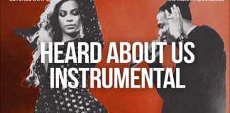 beyonce jay z heard about us instrumental beat