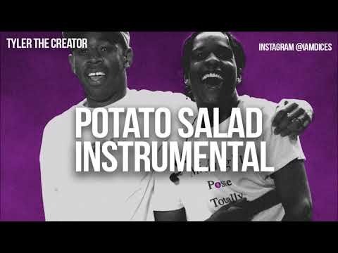 Tyler the Creator & ASAP Rocky Potato Salad Instrumental