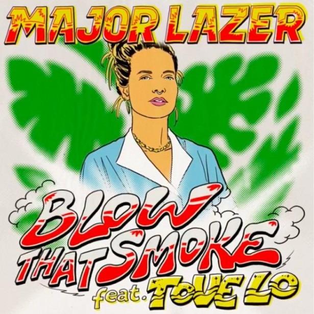 Major Lazer Blow That Smoke Instrumental