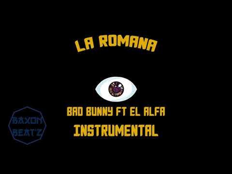 La Romana Bad Bunny FT El Alfa INSTRMENTAL