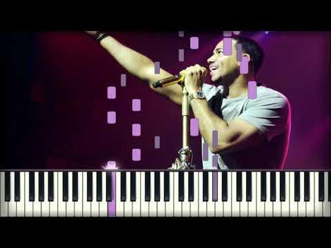 Romeo Santos, Raulin Rodriguez - La Demanda piano karaoke