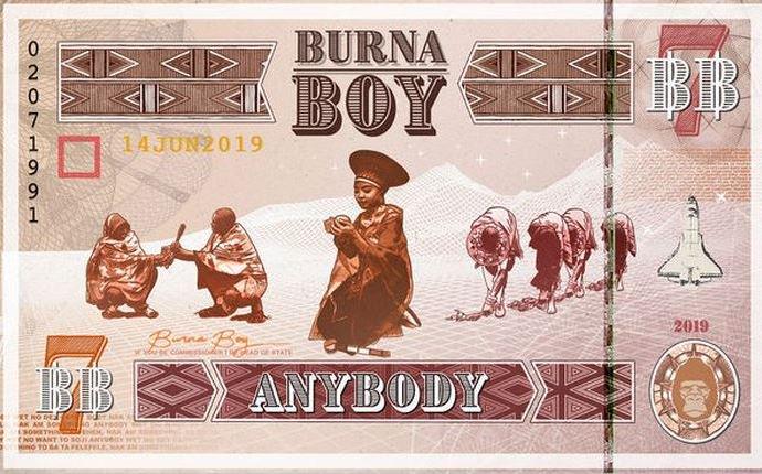 Burna Boy Anybody instrumental