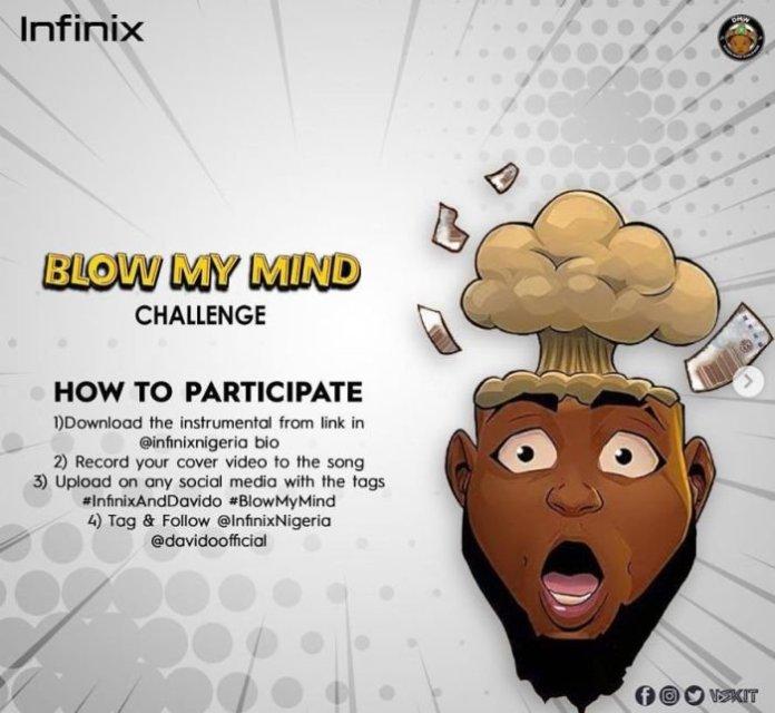 Davido Blow My Mind Challenge Instrumental