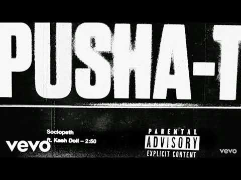 Pusha T - Sociopath Instrumental (Feat. Kash Doll)