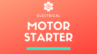 The most used 3 Basic Motor Starter with it's PLC Program!