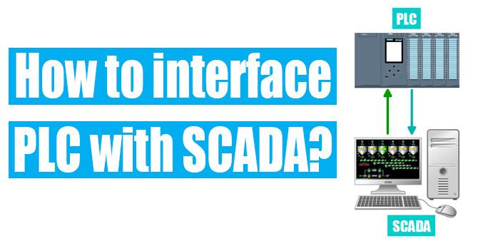 interface plc with scada