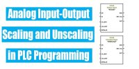 Scaling and Unscaling in PLC Programming | Analog Scaling
