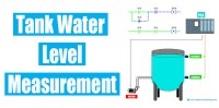 Application of Water Level Measurement with it's PLC Logic