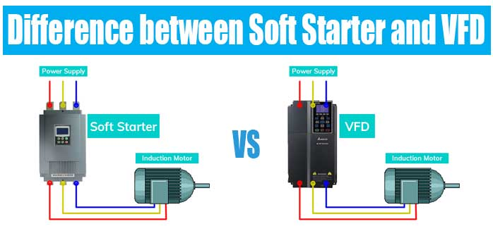 Differernce between Soft Starter and VFD