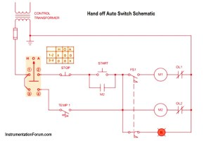 Hand off Auto Switch Operation  Electrical Engineering  Instrumentation Forum