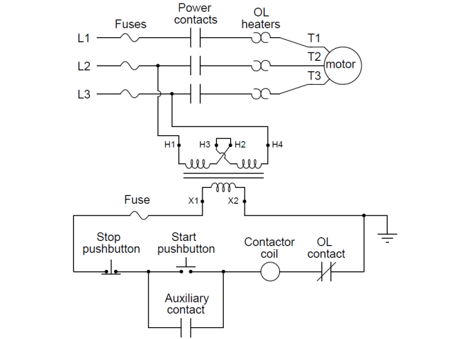 diagram connection wiring diagrams state motor control