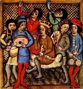 Instruments de musique Moyen Age