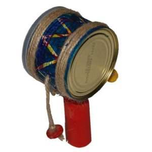 Fabriquer des instruments de musique pour les enfants – La réalisation du tambourin Africain