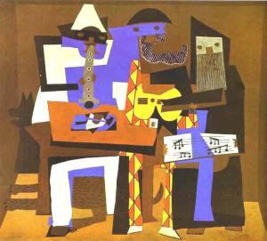 Les trois musiciens de Pablo Picasso