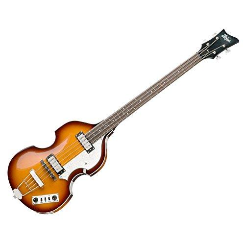 Hofner IGNITIONSB Electric Violin Bass Guitar - Rosewood Fingerboard, Sunburst Finish