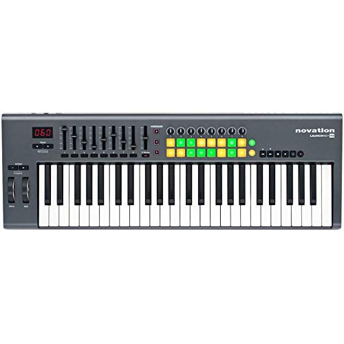 Novation Launchkey 49, 49-key USB/iOS MIDI Keyboard Controller
