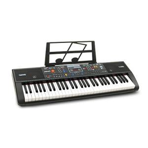 Plixio 61-Key Digital Electric Piano Keyboard & Sheet Music Stand